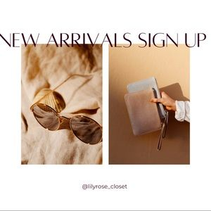 🗣 Don't miss new arrivals!!! Comment below 👇🏼 to be alerted ✨
